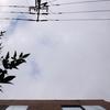 作曲工房 朝の天気 2018-09-23(日)秋分の日 曇り → 晴れ