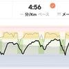 ジョギング10.49km・早朝クルーズインターバル(走りすぎ)