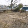 庭に小屋を作ってみた その1 2015.3.28