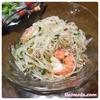 【レシピ】[カルディ]ヤムウンセンセットで超簡単タイ風春雨サラダ