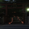【GoPro hero8】 【かき氷お店状況】氷室神社 月次祭 氷献灯 と鹿だまり、他いろいろ