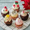 サリーズカップケーキ クリスマスカップケーキ 6個入り