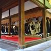 東大寺 聖武天皇祭/いかに、いかにと法要は進む。論議法要というもので掛け合いが行われていました。