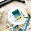 【カルトナージュレッスン】Basicクラスレッスン・正方形綿入りの蓋のBox・Sサイズ