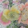 美しい花のぬり絵【マユハケニラ・ボタン・ユリズイセン・デイジー】