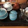 木曜日、中国で買ってきた茶器