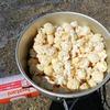 きょうの海おやつは三浦産のポップコーンをいただきます