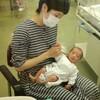 生後10日目~おばさんと初対面~(2019年1月27日)