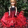 赤と黒のドレス   その2