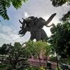 バンコク郊外観光(エラワン・ミュージアム)、オススメの観光スポット。
