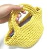 麻紐スクエアトートの編み方