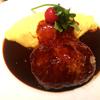 「洋食 キッチン大宮」の「ハンバーグ&オムライスコンボ」