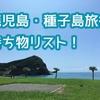 【1歳11ヶ月】鹿児島・種子島旅行!持ち物まとめ!