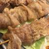 日本7大焼鳥処の一つ久留米で「ダルム」を食べる。ダルム、センポコ、ヘルツなど独特な呼び方の焼き鳥が多数あり。