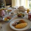 コンシェルジュ ディズニーシンデレラルームの朝食ルームサービス♪