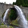 熊本地震で被災した通潤橋 復旧現場を公開