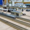【Nゲージレイアウト】線路配置の検討(高架橋の設置)