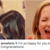 """クリス·フラット氏の婚約発表に""""おめでとう""""と直接コメントした元夫人"""