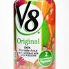 本場アメリカの野菜ジュース「V8オリジナルベジタブルジュース」がしょっぱくてスゲー美味い!ただし健康面は相当に微妙