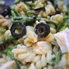 アスパラと鶏ハムのピーナツ味噌和えサラダ