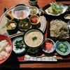 つくば「日本料理 筑膳」で自然薯とお蕎麦のランチ