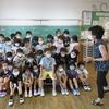 3年生:記念撮影&トマト掲示