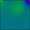 【差分法】フラクショナルステップ法で風上差分を用いてNavier-Stokes方程式を解きました C++コード付き