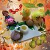 かわいい秋のミニ和菓子セット♪