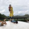 【秦山公園】武空術を会得。子供がいるから公園で遊べるという貴重な体験をありがとう。