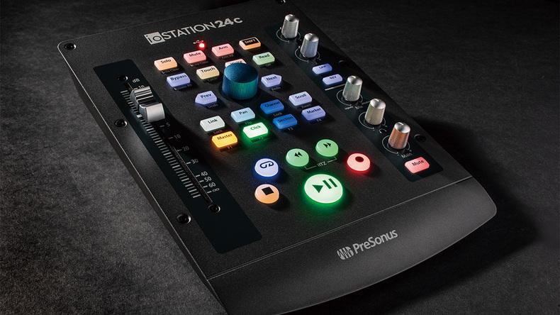 「PRESONUS IOStation 24C」製品レビュー:オーディオI/OとDAWコントローラーを1台に集約したデバイス