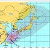 台風18号来るね