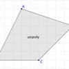 GeoGebraで多角形の内部・辺上にある全ての格子点を返す方法