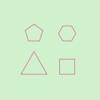 【GLSL】多角形