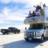 アメリカ横断モーターホーム(キャンピングカー)の旅でも人気のホワイトサンズの動画をご紹介!