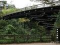 「猿橋」は日本三奇橋の1つで趣きある絶景です