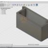 Fusion 360 9V電池 固定具 改 3Dモデリング編