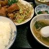 北京料理竜馬の味付け唐揚げ定食