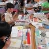 4年生:図工 絵の具を使っていろいろな技法を