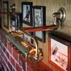 真鍮&銅製スチームパンクなインダストリアルピクチャーライト|Hi-Romi.com 完全オリジナル照明 【DOL-17-001】