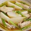 カブと手羽中の和風スープ煮のレシピ