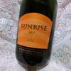 【安くて美味しいワイン】SUNRISE サンライズ 辛口スパークリング~スーパーで気軽に買える美味しい泡