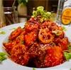 【レシピ】鮭とれんこんの韓国風ピリ辛炒め
