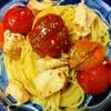今日のごはん:カラフルトマトで食欲よみがえる!2Wayいけるパスタ