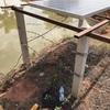 マイナートラブル…乾期用投げ込みポンプ不動作…