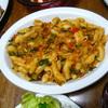 ホウレン草のパスタ⑤大皿ごちそうパスタ