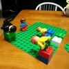 【作品】2歳の次男がレゴで作り出すやべぇ世界