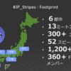 JP_Stripes 初年度活動記(または、しましま団全国縦断記)