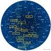 夏の星座 夏にみられる星座の多くのものにも.対応するギリシャ神話が知られています.黄道十二宮の星座,てんびん座,さそり座,いて座を含めて.しかし,てんびん座,さそり座は,ギリシャ神話が起源となった名前というわけではありません.それぞれに,古代メソポタミアの言語アッカド語,シュメール語で,同じ「天秤」「さそり」を意味する名前が付けられていました.
