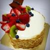 嫁氏、友人宅でケーキを頂く。俺氏は旧正月イベント用のパンを焼く。
