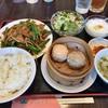 【京成大久保】  桂林餃子  レバニラ炒めランチ